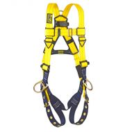 Delta Vest-Style Harness, Tongue Buckle Legs, Back/Side D-Rings