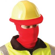 Winter Liner, Fits Over Hard Hat, Red