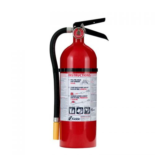 Fire Extinguisher 5 lb. with Bracket