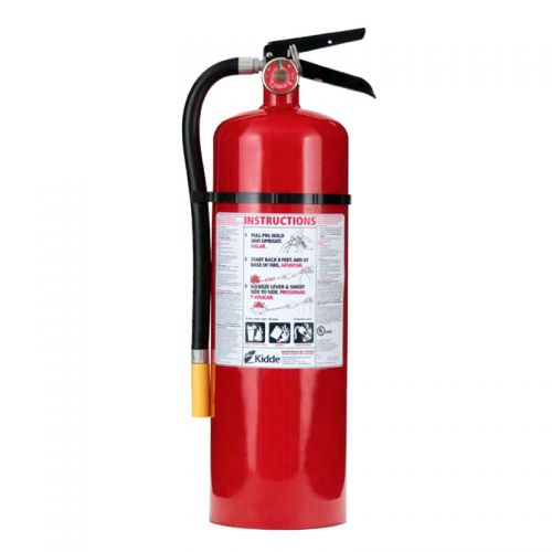 Fire Extinguisher, 10 lb. with Wall Hanger