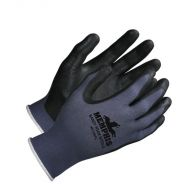 Nitrile Gloves, Black Sandy Foam