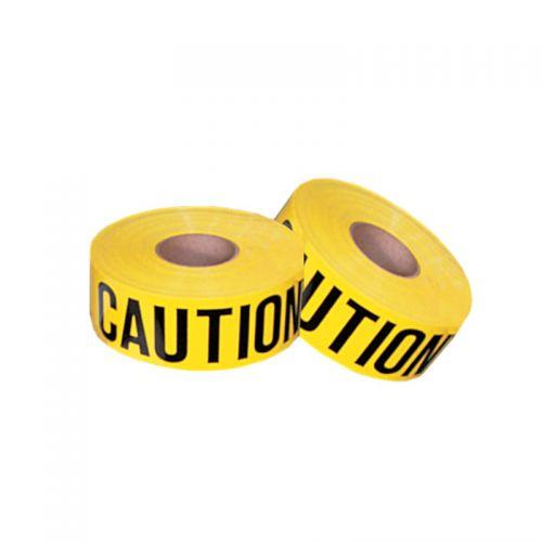 "Barricade Tape, Caution, 3"" x 1000 ft. roll"
